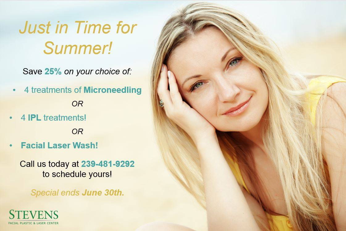 June Facial Treatment Special Fort Myers